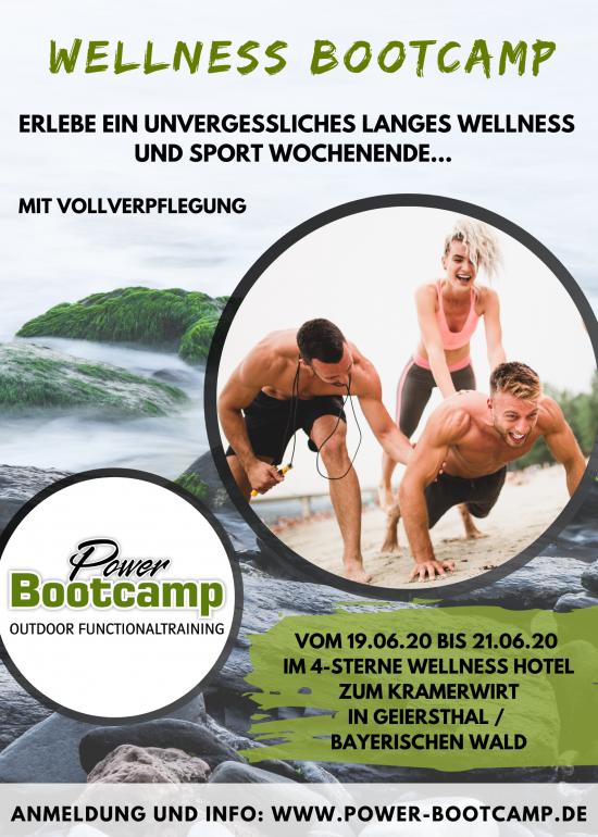 Wellness Bootcamp Bayerischen Wald