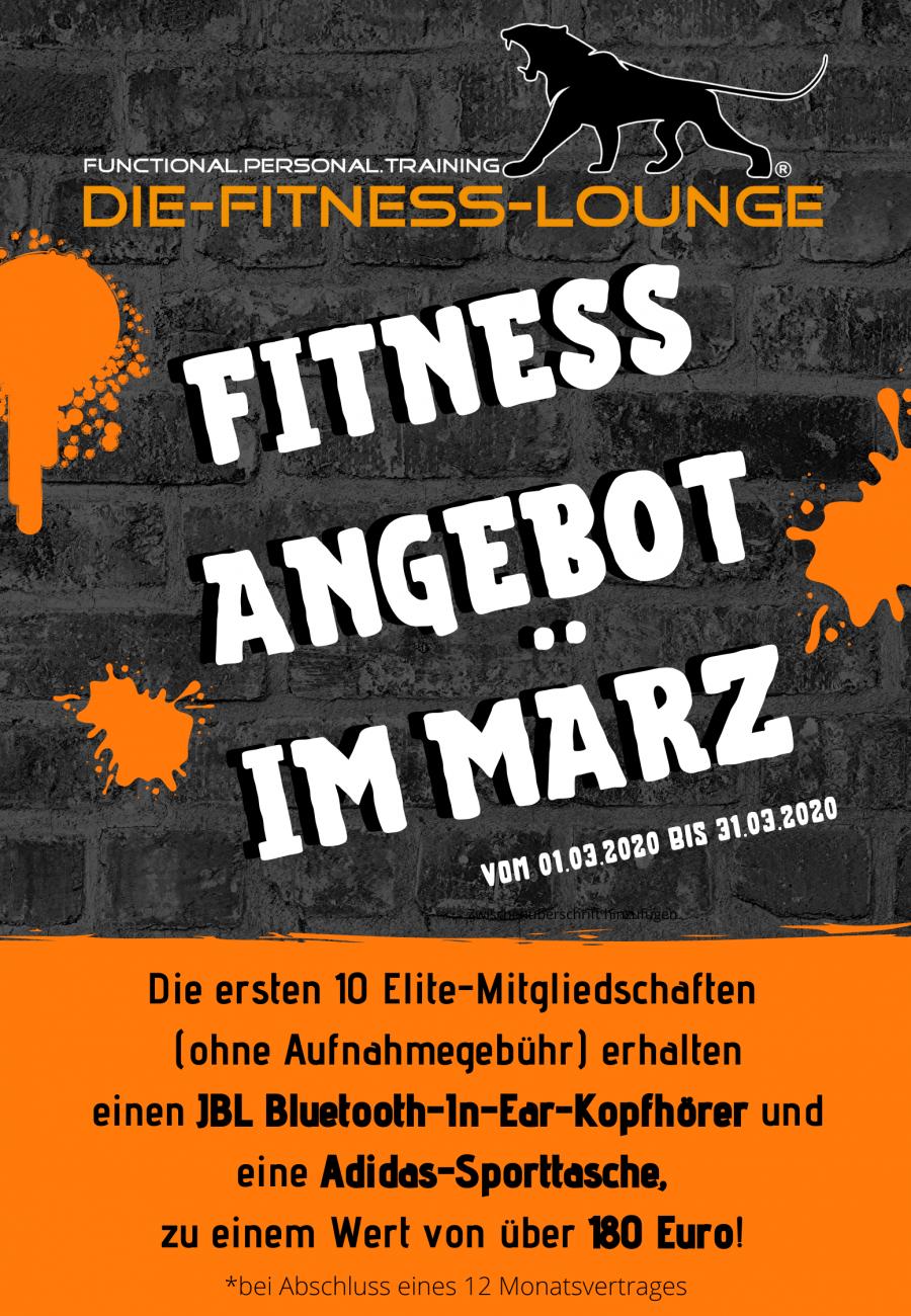 Fitness Angebote März 2020